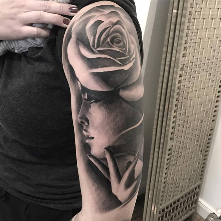 in-progress-tattoo-portrait-maciej-art-rose-rosetattoo-instagram-ink-inktober201